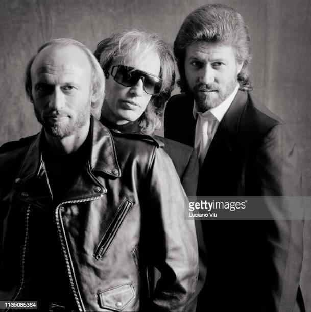 BritishAustralian poprock group Bee Gees Italy 1986