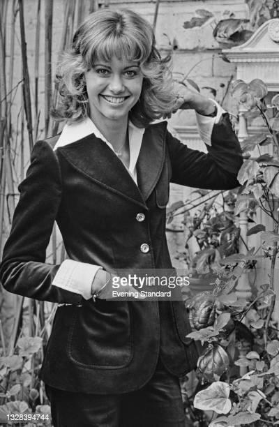 British-Australian singer and actress Olivia Newton-John, UK, 17th September 1974.