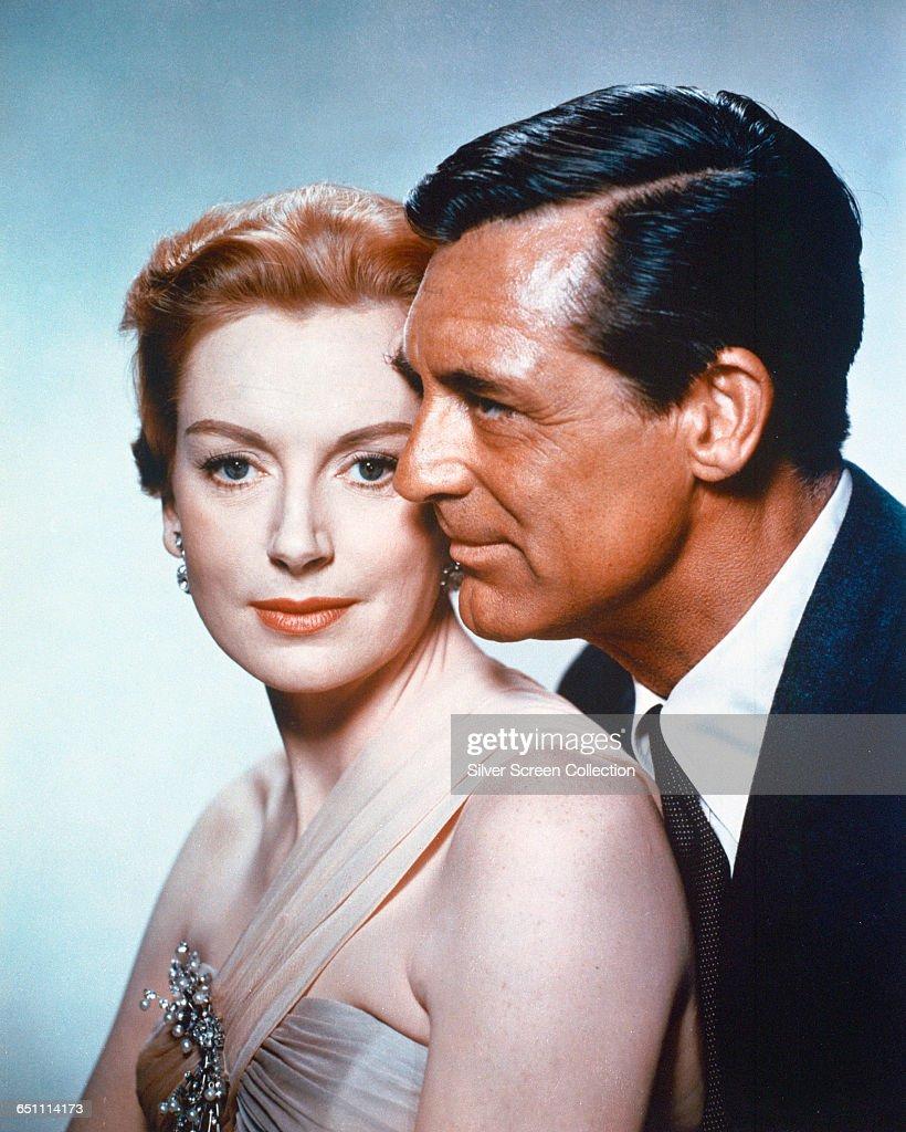British-born actors Cary Grant and Deborah Kerr in the romantic drama 'An Affair to Remember', 1957.