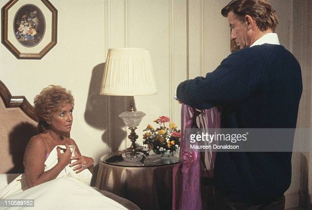 Britishborn actors Elizabeth Taylor and Roddy McDowall star in 'Intimate Strangers' an episode of the television series 'Hotel' 1984