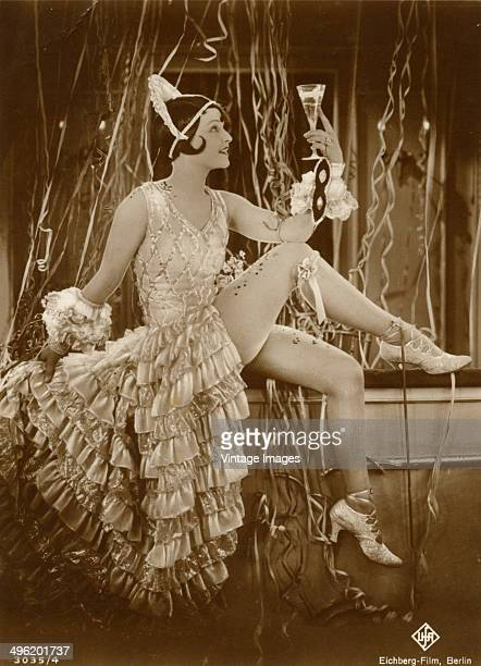 Britishborn actress Lilian Harvey in a publicity still for an EichbergFilm production from Universum Film AG in Germany circa 1926