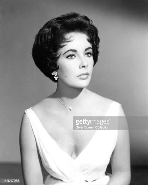Britishborn American actress Elizabeth Taylor circa 1955