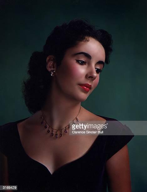 Britishborn American actress Elizabeth Taylor