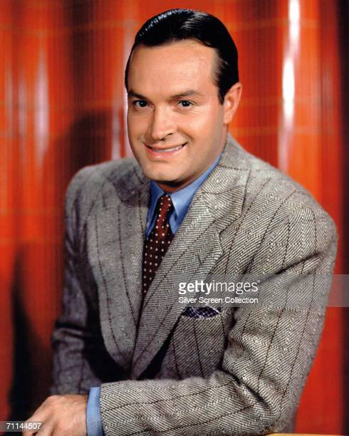 Britishborn American comedian and actor Bob Hope circa 1942