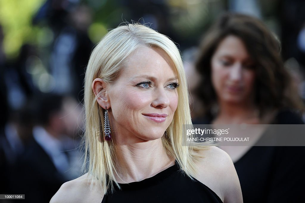 British-born Australian actress Naomi Watts arrives for the screening of 'Biutiful' presented in competition at the 63rd Cannes Film Festival on May 17, 2010 in Cannes.