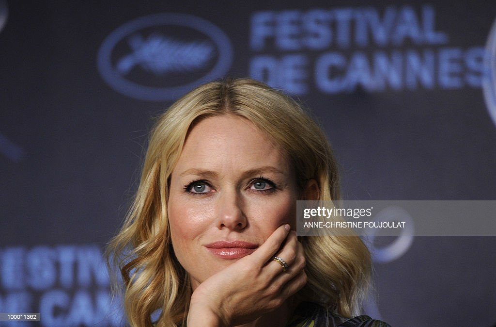 British-born Australian actress Naomi Watts attends the press conference of 'You Will Meet a Tall Dark Stranger' presented out of competition at the 63rd Cannes Film Festival on May 15, 2010 in Cannes.