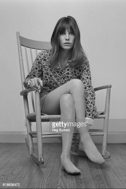 BritishFrench actress and singersongwriter Jane Birkin UK 23rd April 1968