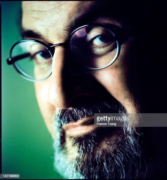 BritishIndian Writer Salman Rushdie at Madrid 9th september 2004
