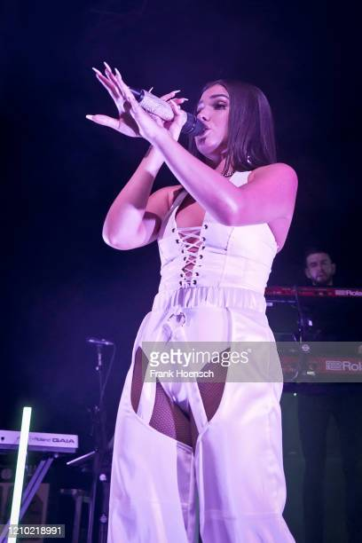 BritishSwedish singer Mabel McVey aka Mabel performs live on stage during a concert at the Kesselhaus on March 3 2020 in Berlin Germany