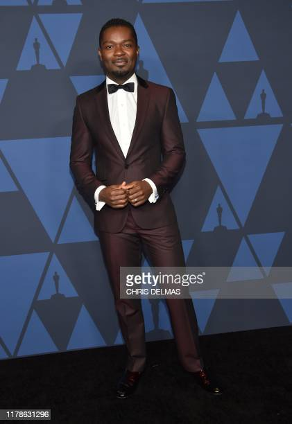 BritishUS actor David Oyelowo arrives to attend the 11th Annual Governors Awards gala hosted by the Academy of Motion Picture Arts and Sciences at...