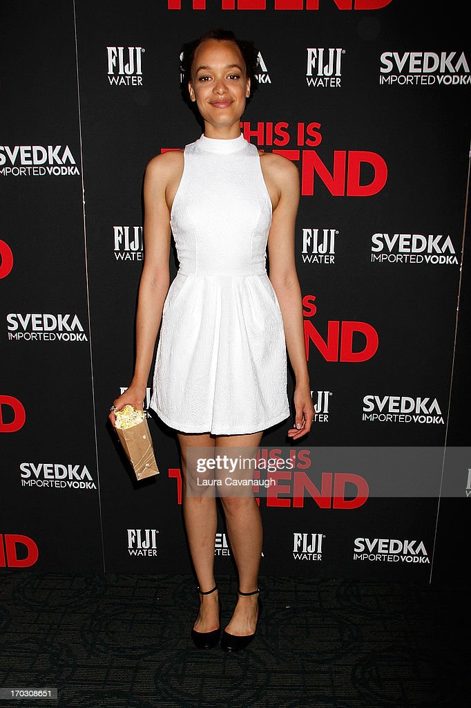 Britne Oldford attends 'This Is The End' New York Premiere at Sunshine Landmark on June 10, 2013 in New York City.