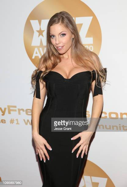Britney Amber attends the 2019 XBIZ Awards on January 17 2019 in Los Angeles California