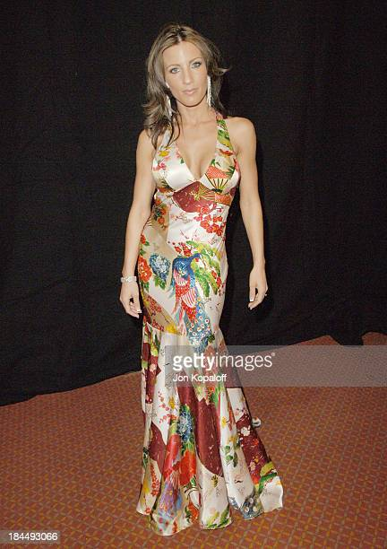 Britney Foster during 2006 AVN Awards Arrivals and Backstage at The Venetian Hotel in Las Vegas Nevada United States
