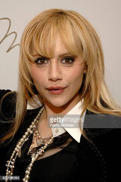 Britney Murphy attends MAX AZRIA Fall 2008 Fashion Show at The Tent on February 4 2008 in New York City
