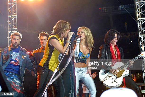 Britney Spears Aerosmith and *NSYNC