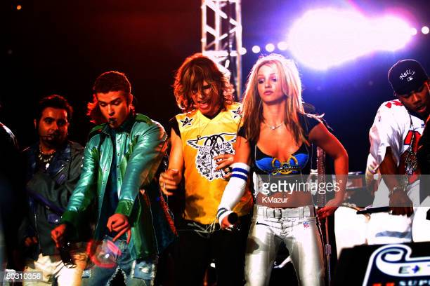 Britney Spears Aerosmith *NSYNC Nelly