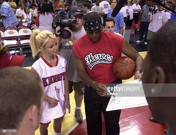 Britney Spears Ahmad Rashad