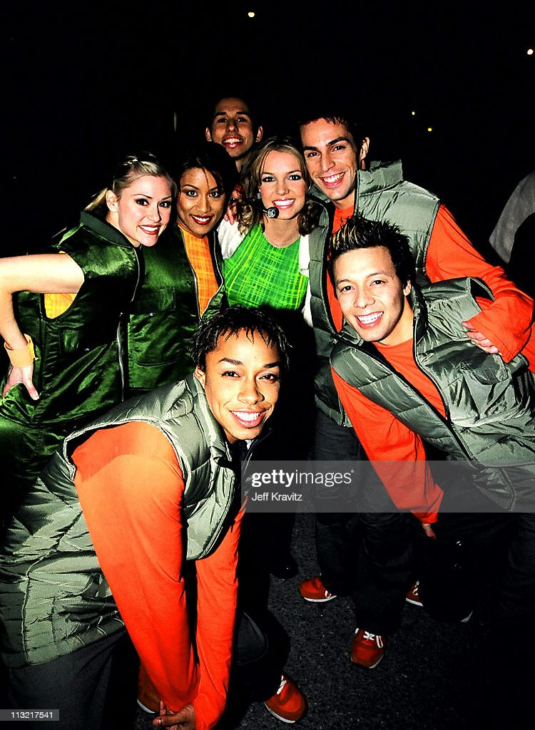 Britney Spears and her dancers