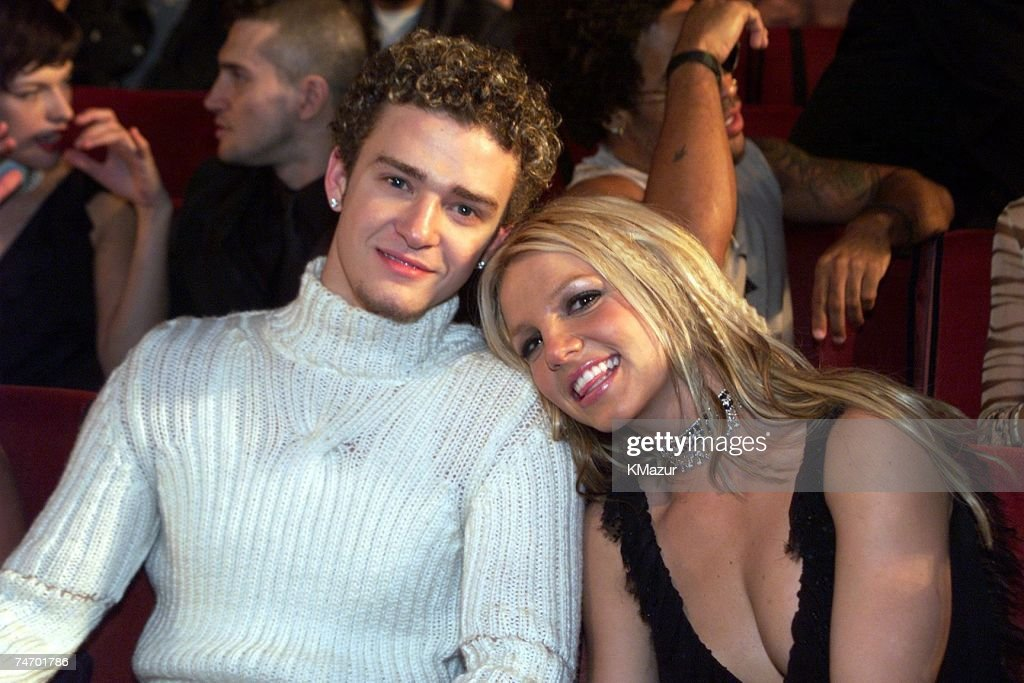 Britney Spears and Justin Timberlake at the Radio City Music Hall in New York City, New York