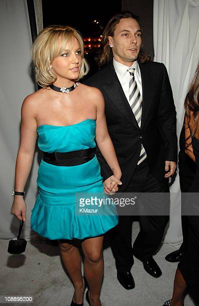 Britney Spears and Kevin Federline during 12th Annual Screen Actors Guild Awards Official After Party hosted by People Magazine and the Entertainment...