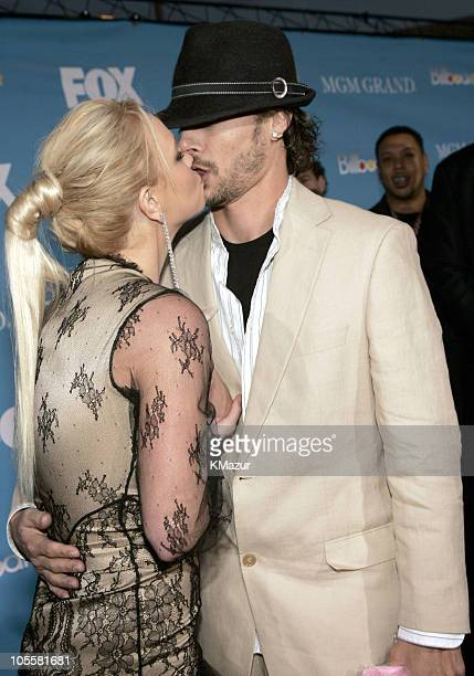Britney Spears and Kevin Federline during 2004 Billboard Music Awards Red Carpet at MGM Grand Garden in Las Vegas Nevada United States
