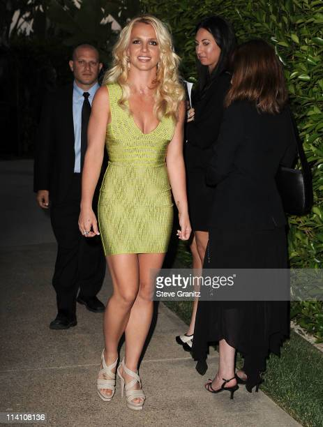 Britney Spears arrives at the Southern Style St Bernard Project Event With Ambassador Britney Spears in Beverly Hills, California.