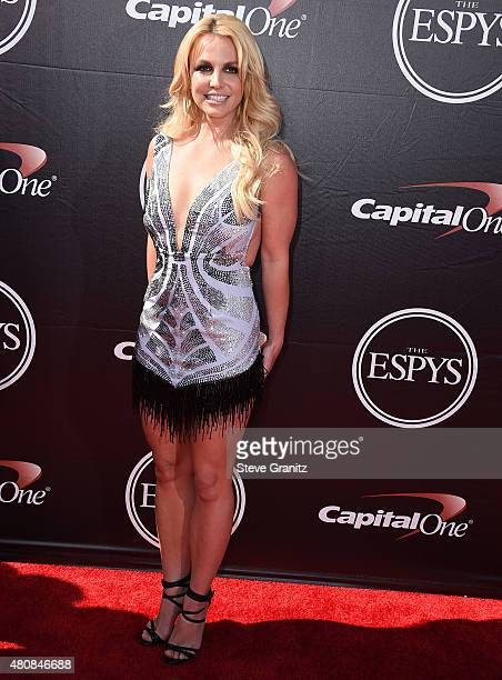 Britney Spears arrives at the The 2015 ESPYS at Microsoft Theater on July 15 2015 in Los Angeles California