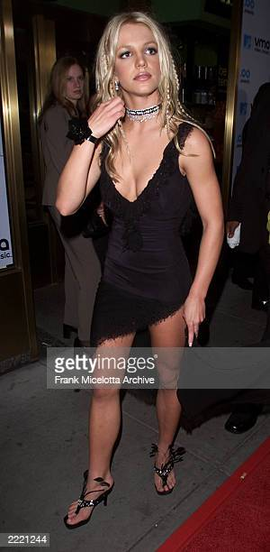 Britney Spears arriving at the 2000 MTV Video Music Awards live from Radio City Music Hall in New York City 9/7/2000 Frank Micelotta/Getty Images