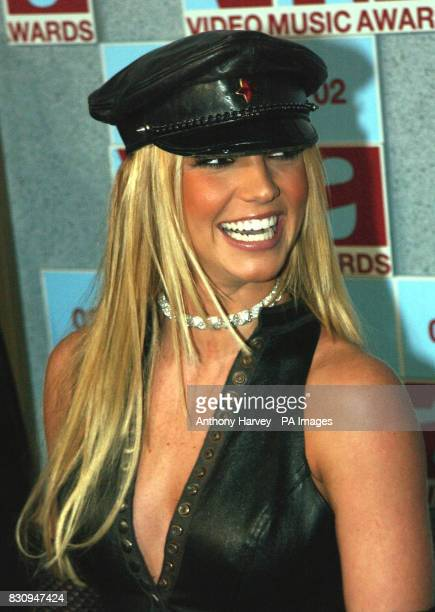 Britney Spears arriving at the MTV Video Music Awards Radio City Music Hall New York USA * Britney Spears whose movie debut Crossroads has been voted...