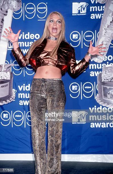 Britney Spears at the MTV Video Music Awards in New York NY 9/9/99 Photo by Brenda Chase/Online USA Inc