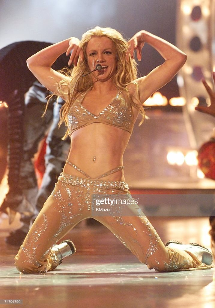 Britney Spears at the Radio City Music Hall in New York City, New York