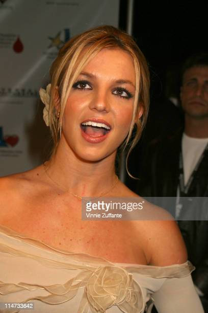 Britney Spears attending annual Neil Bogart Tour for a Cure 2002 Children's Choice Award at the Universal Ampitheatre in Los Angeles CA Britney and...