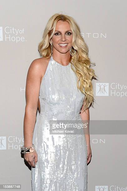 Britney Spears attends City Of Hope Honors Halston CEO Ben Malka With Spirit Of Life Award Red Carpet at Exchange LA on October 10 2012 in Los...
