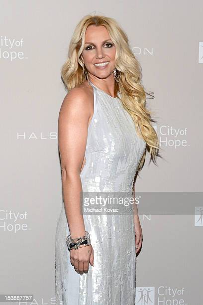 Britney Spears attends City Of Hope Honors Halston CEO Ben Malka With Spirit Of Life Award - Red Carpet at Exchange LA on October 10, 2012 in Los...