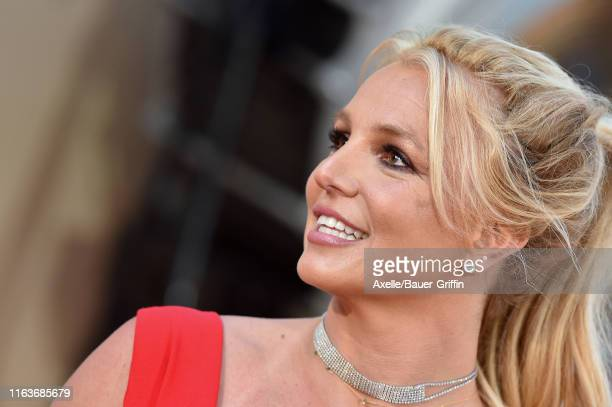 Britney Spears attends Sony Pictures' Once Upon a Time in Hollywood Los Angeles Premiere on July 22 2019 in Hollywood California