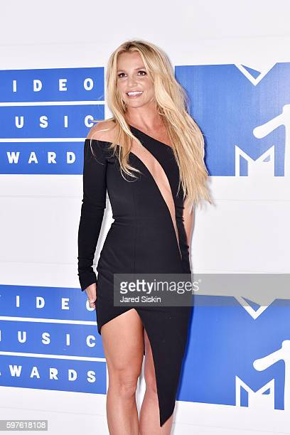 Britney Spears attends the 2016 MTV Video Music Awards Arrivals at Madison Square Garden on August 28 2016 in New York City