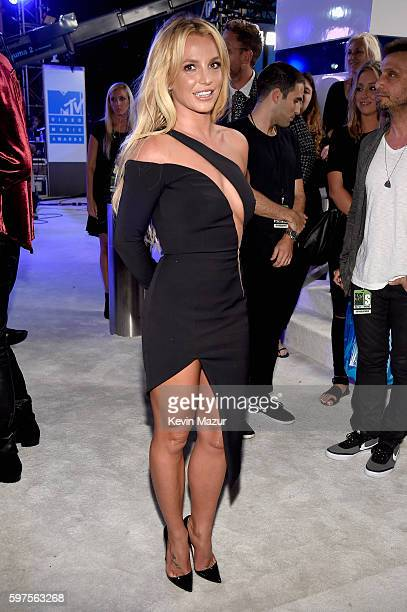 Britney Spears attends the 2016 MTV Video Music Awards at Madison Square Garden on August 28 2016 in New York City