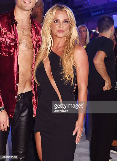 Britney Spears attends the 2016 MTV Video Music Awards at Madison Square Garden on August 28, 2016 in New York City.