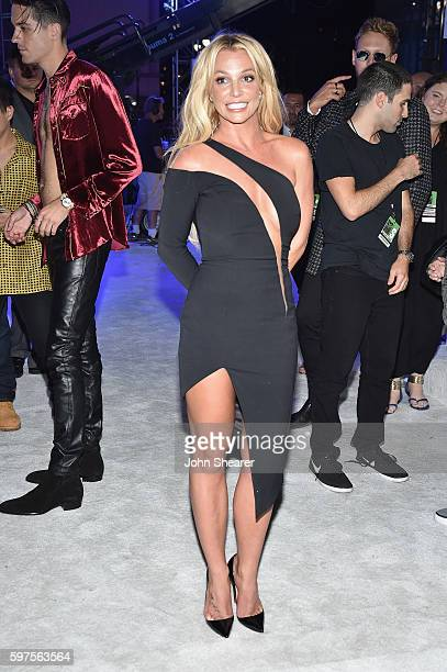 Britney Spears attends the 2016 MTV Video Music Awards on August 28, 2016 in New York City.