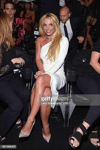 Britney Spears attends the 2016 MTV Video Music Awards on August 28 2016 in New York City