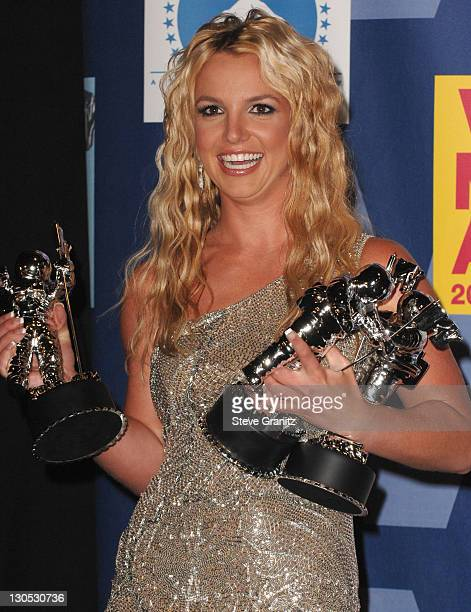 Britney Spears attends the press room at the 2008 MTV Video Music Awards at Paramount Pictures Studios on September 7 2008 in Los Angeles California