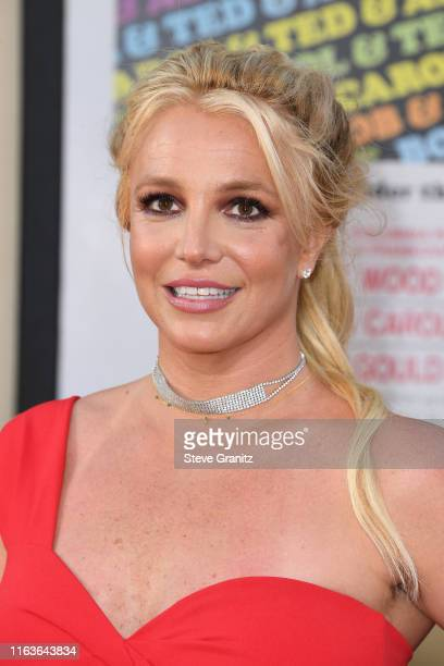 """Britney Spears attends the Sony Pictures' """"Once Upon A Time...In Hollywood"""" Los Angeles Premiere on July 22, 2019 in Hollywood, California."""