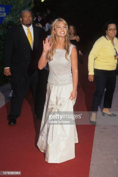 Britney Spears attends the 'World Music Awards' in May, 1999 in Munich, Germany.