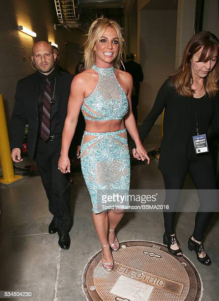 Britney Spears backstage at the 2016 Billboard Music Awards at the TMobile Arena on May 22 2016 in Las Vegas Nevada