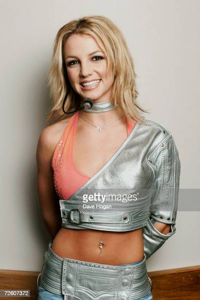 Britney Spears backstage before her concert on the on the 'Ooops I Did It Again' Tour in PhiladelphiaUnited States of America on the 7th of July 2000