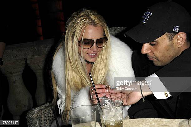 Britney Spears celebrates her birthday inside The ScandinavianStyle Mansion December 1 2007 in Bel Air California