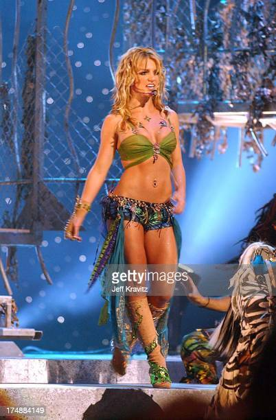 Britney Spears during 2001 MTV Video Music Awards Show at Metropolitan Opera House in New York City New York United States