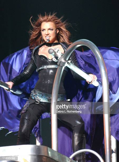 Britney Spears during Britney Spears in Concert - April 10, 2004 at Continental Arena in East Rutherford, New Jersey, United States.