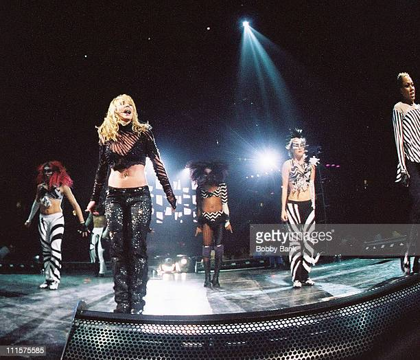 Britney Spears during Britney Spears in Concert at the Continental Arena December 1 2002 at Continental Arena in Meadolands New Jersey United States