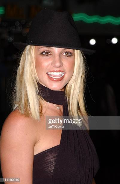 "Britney Spears during ""Four Feathers"" Premiere at Mann Bruin in Los Angeles, California, United States."